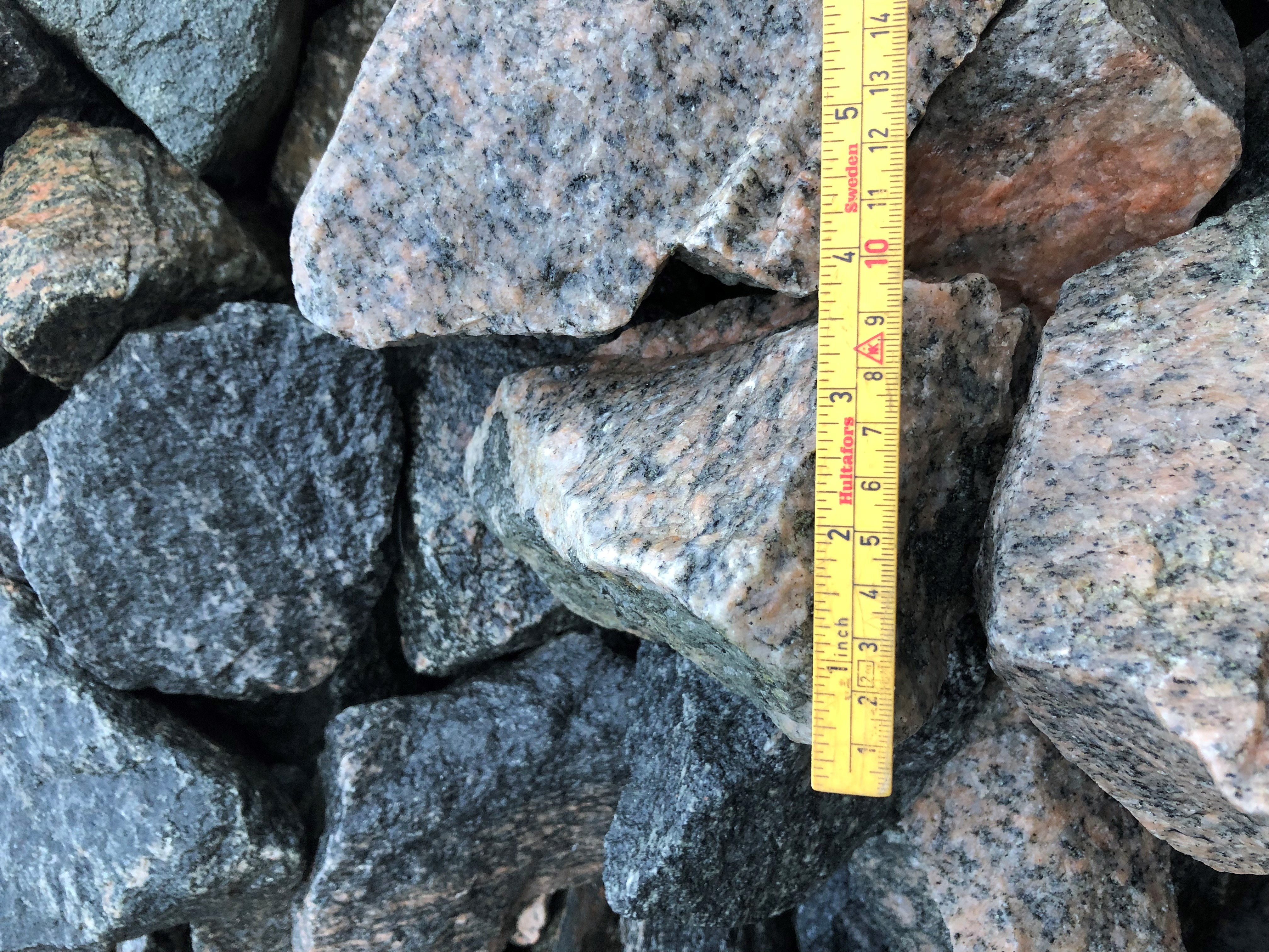 Crushed stones 20-120mm